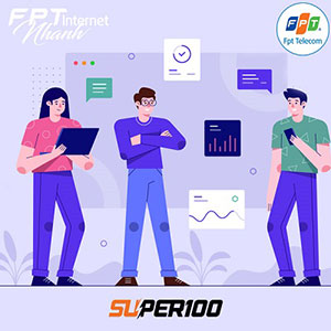 Super 100- Tốc độ 100Mbps