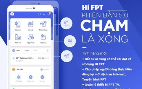 phần mềm quản lý mạng Fpt – Hi FPT với các tính năng nổi bật